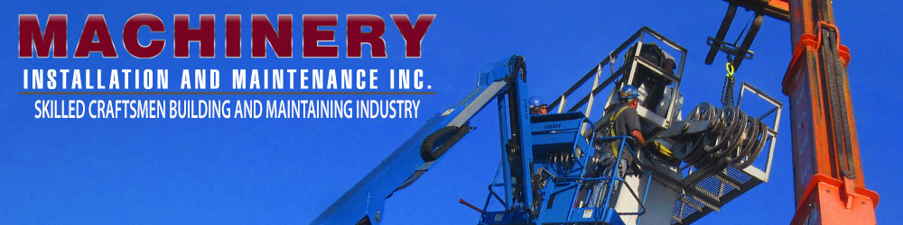 Machinery Installation and Maintence